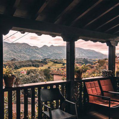 hotel rural en asturias con encanto valleoscuru vistas